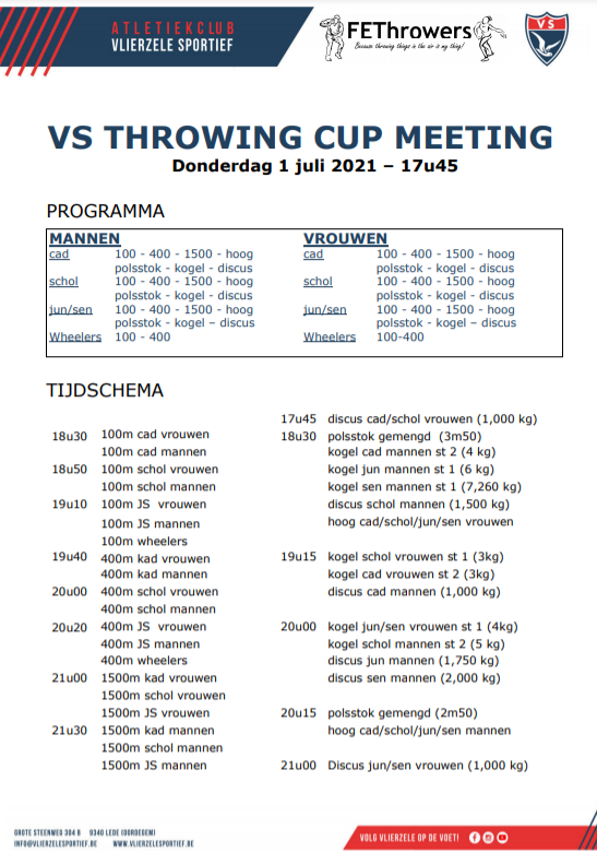 VS throwing cup